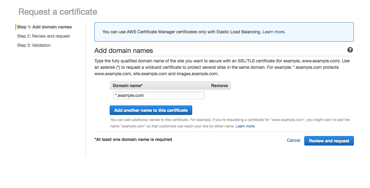 Set Free Ssl By Using Aws Acm